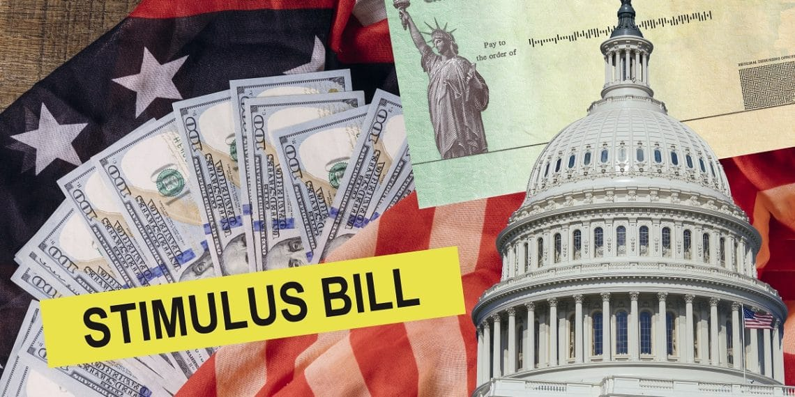 Stimulus begins to hit personal banking accounts