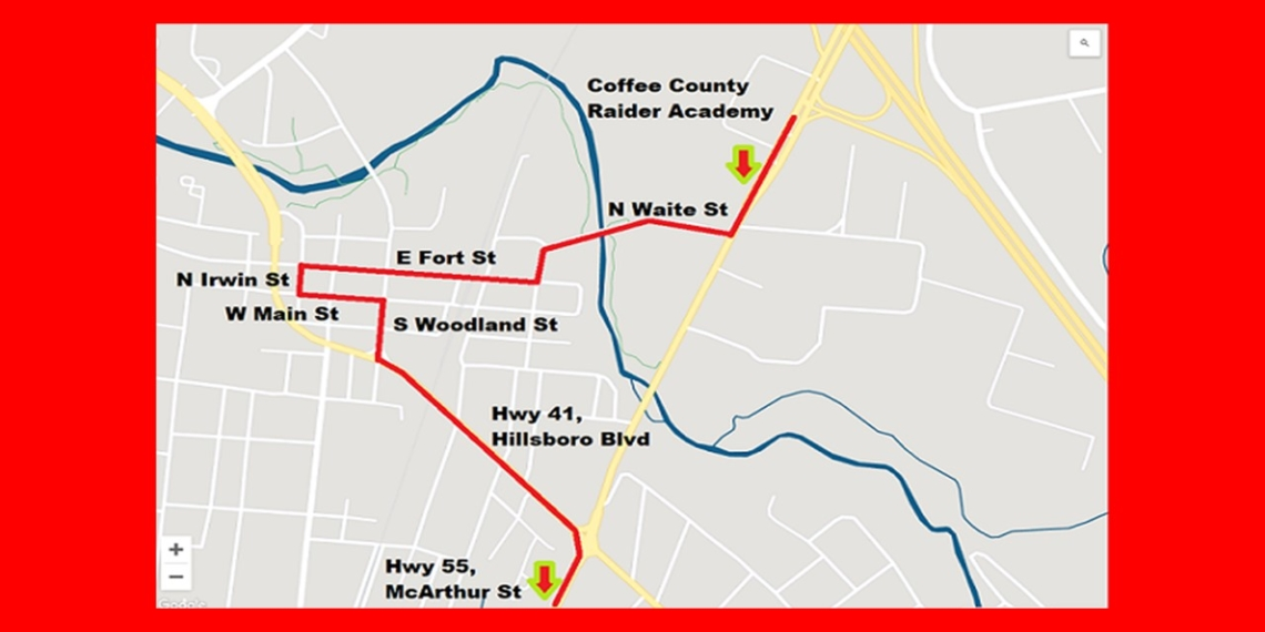 Coffee Co. graduation route
