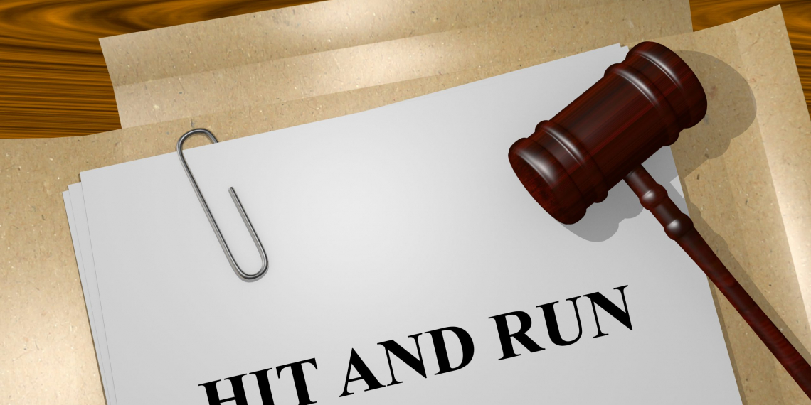 Render illustration of Hit and Run Title On Legal Documents