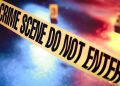 photo of a fresh crime scene