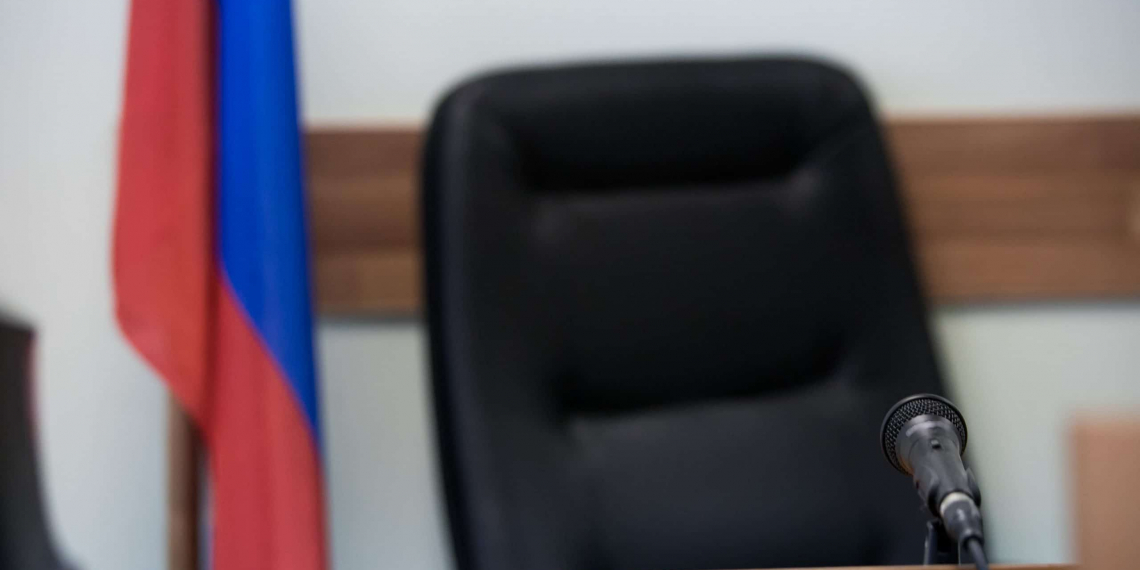 Judge chair in Russia, lawsuit