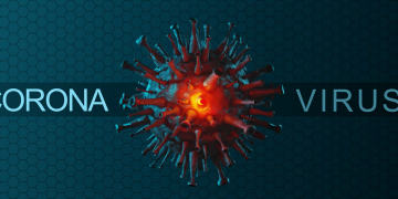 Stop coronavirus and quarantine concept. 3D medical illustration